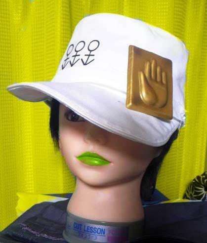 ジョジョ 4部 帽子 承太郎 白