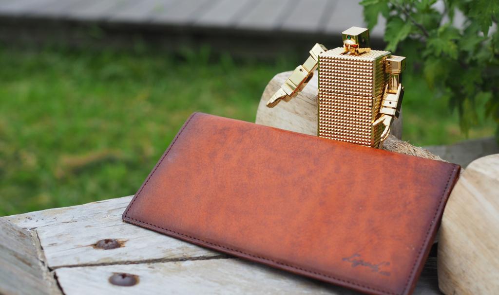 ラガード 薄い 長財布 本革 青木鞄