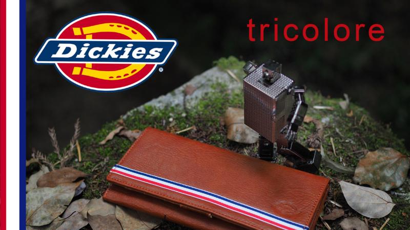 ディッキーズ 長財布 トリコロール Dickies