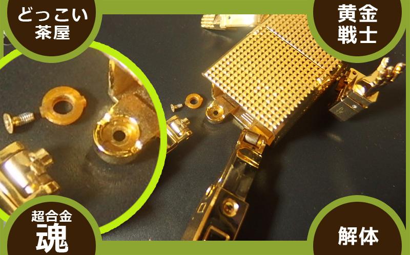 ゴールドライタン 修理 ピン