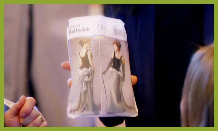 ソーイング・ビー2 イブニングドレス 型紙 ジョイス