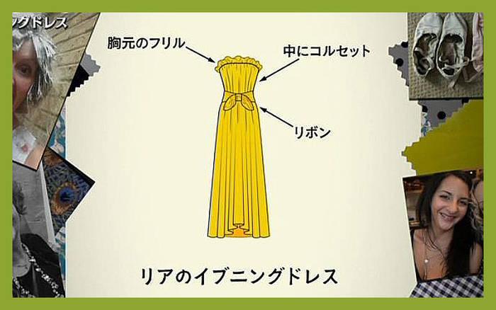 ソーイング・ビー3 リア 決勝 イブニングドレス 黄色