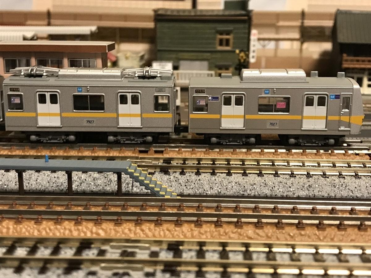 東京メトロ7000系 Bトレ 側面