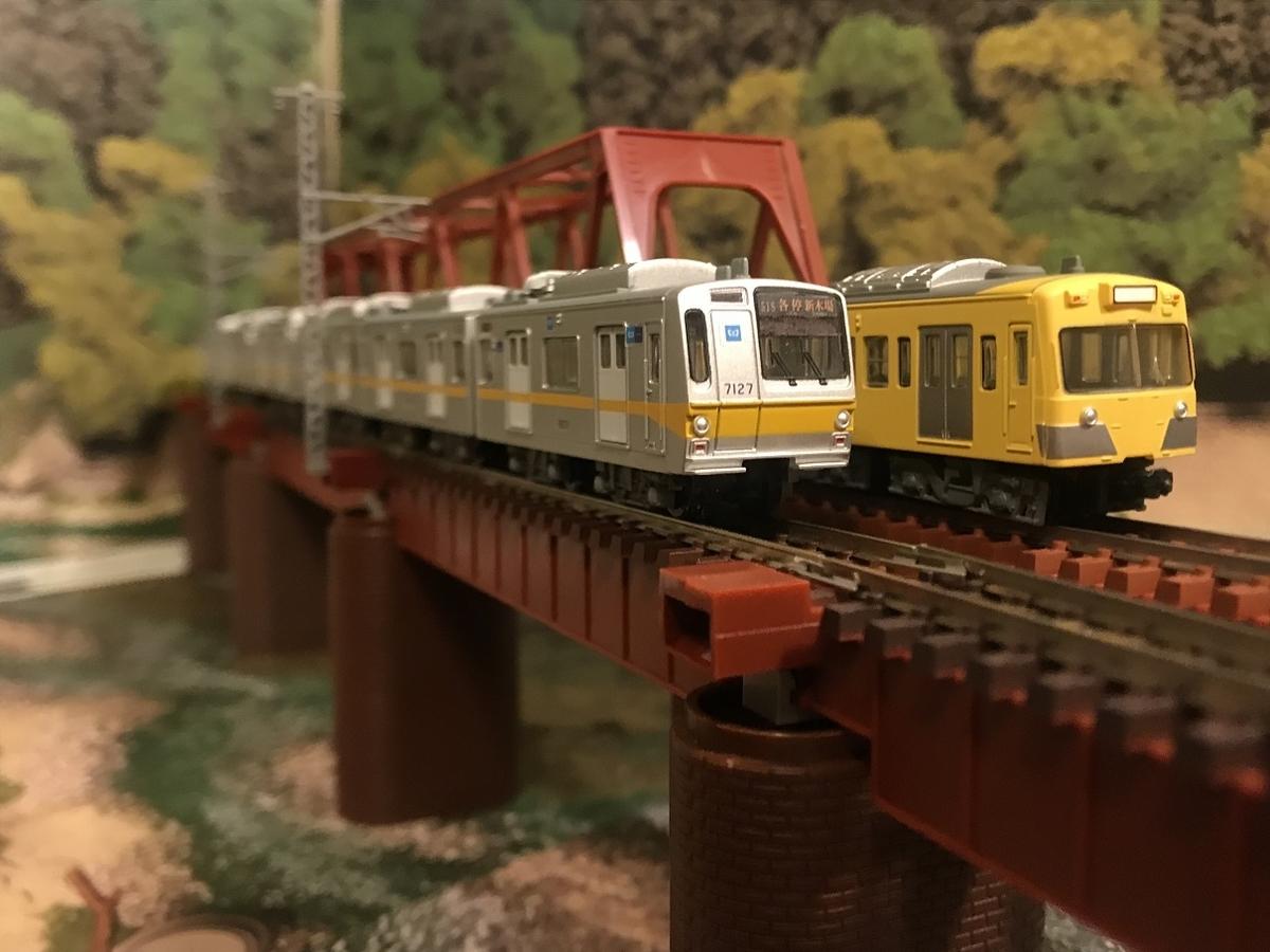 東京メトロ7000系 Bトレ ガーター橋