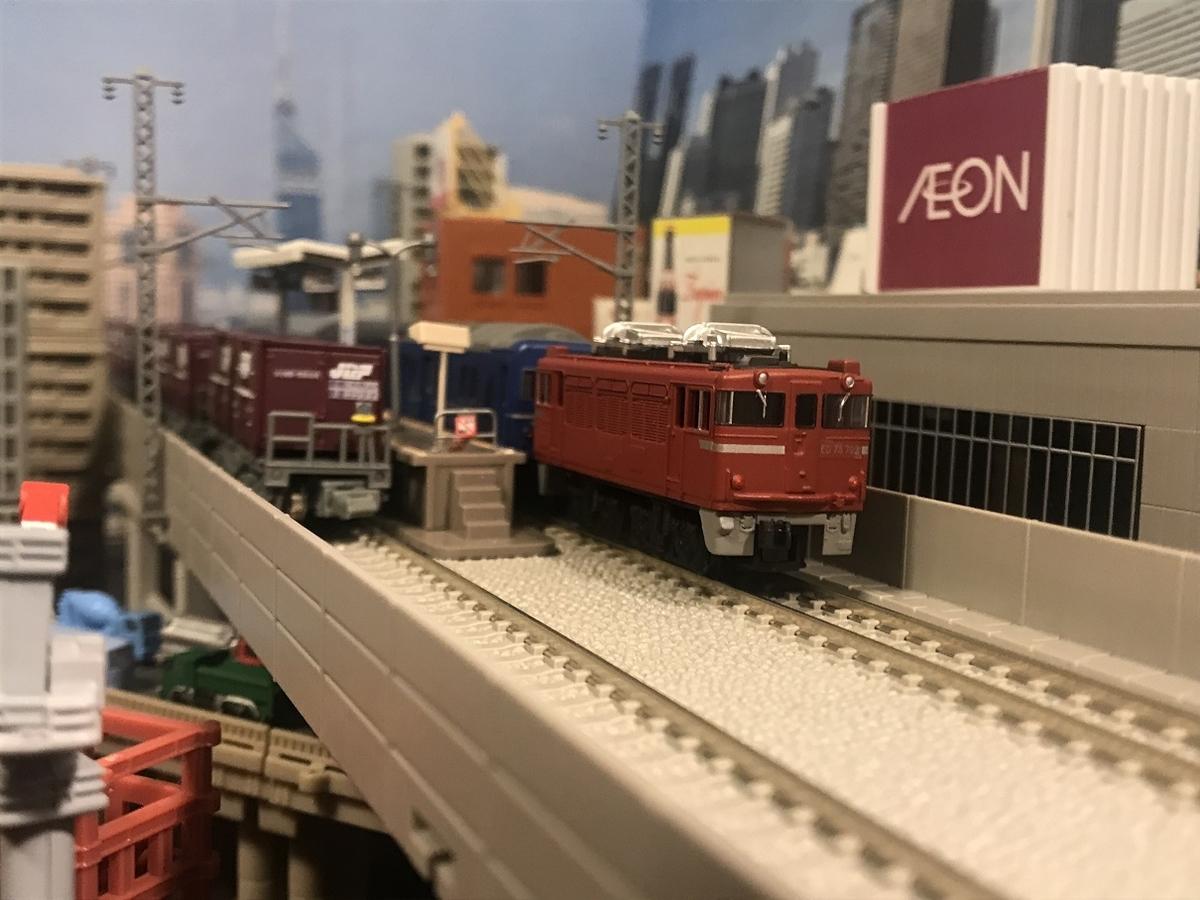 ED75 高架駅 ジオラマ