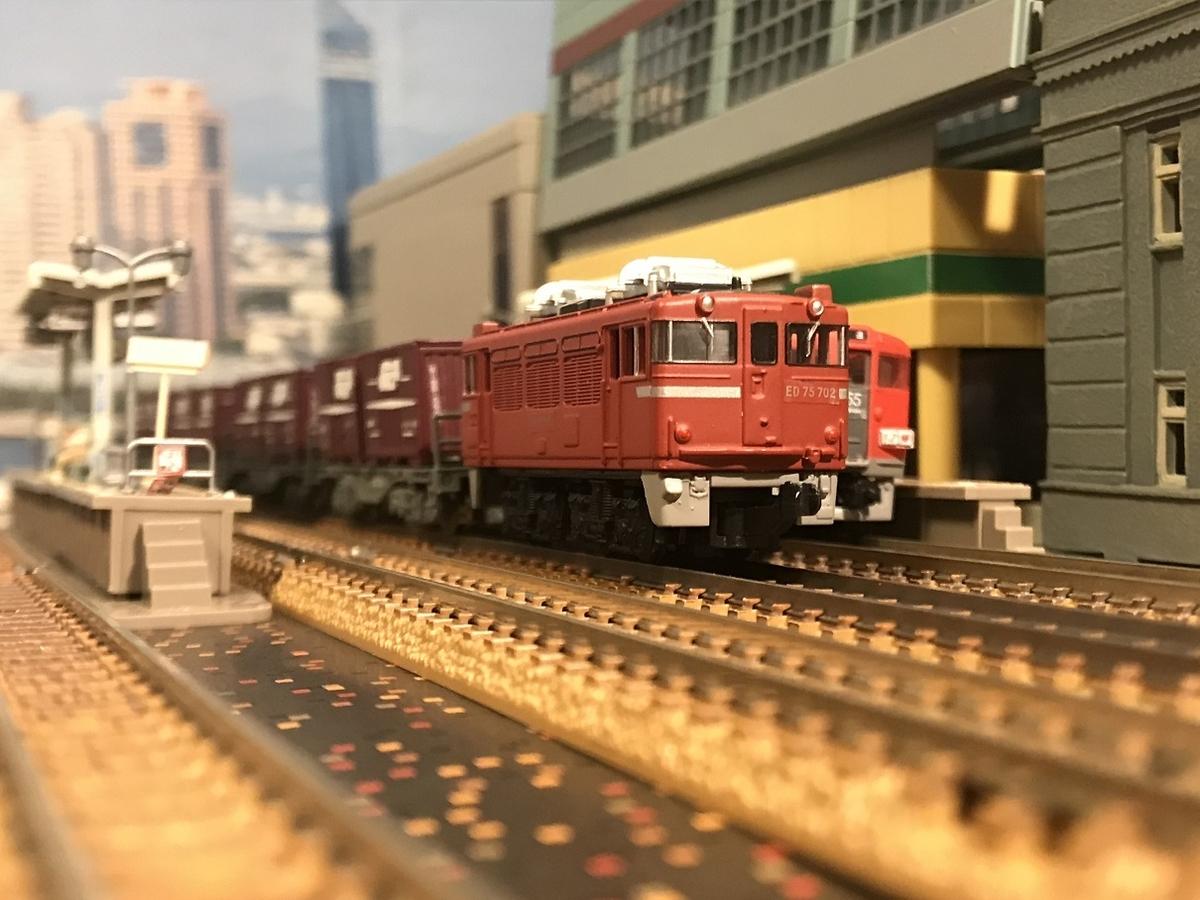 ED75 郡山駅 ジオラマ