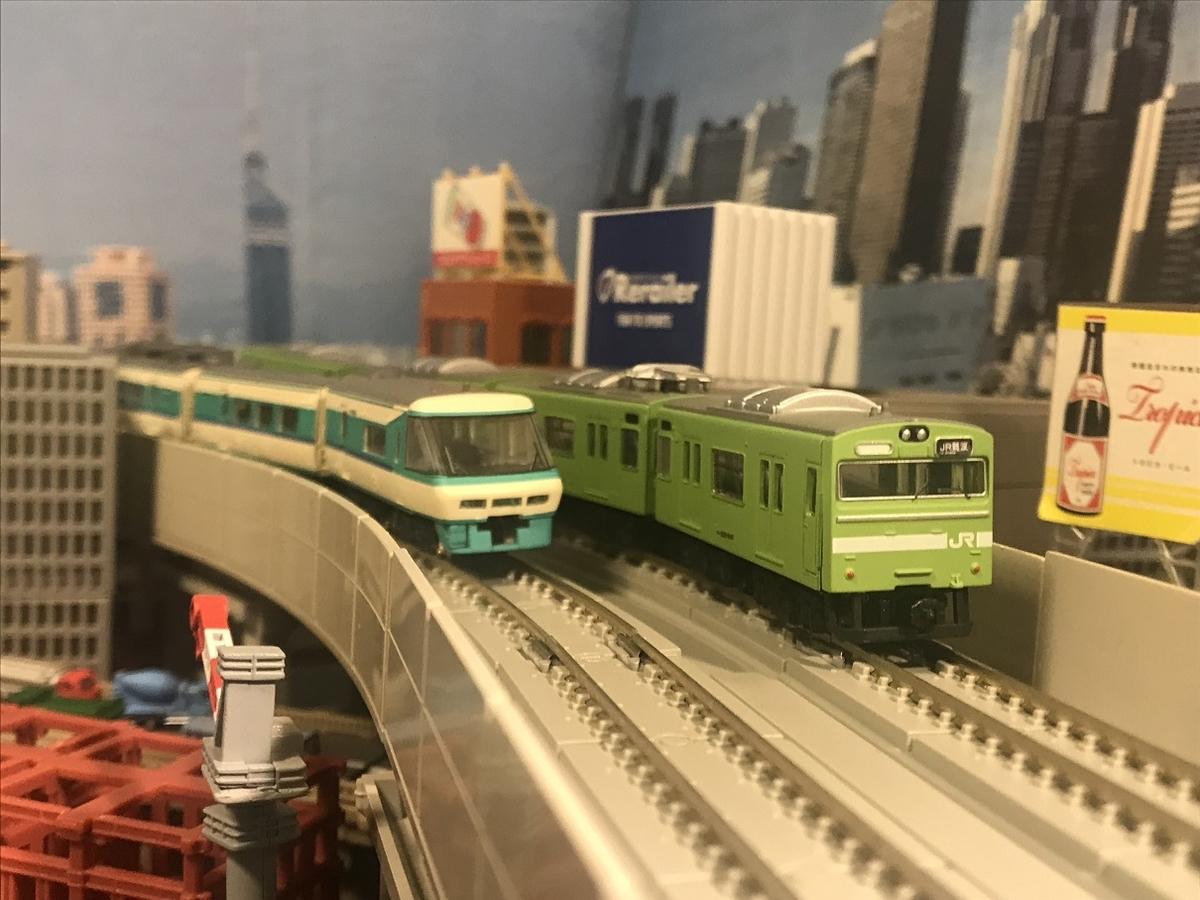 103系 うぐいす 体質改善40N 大阪環状線