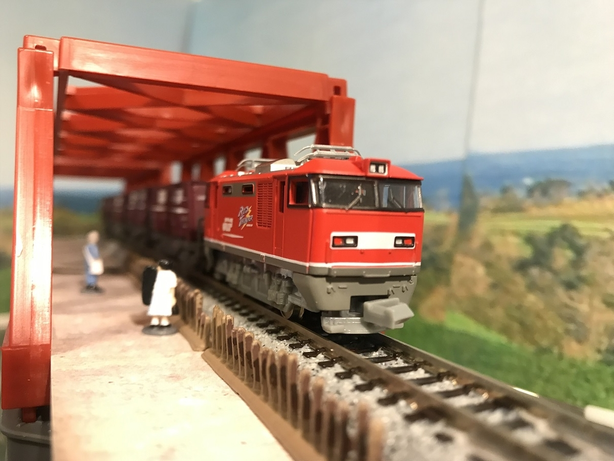 EF510 RED THUNDER 赤川鉄橋