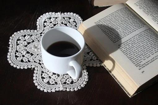 コーヒーと書籍