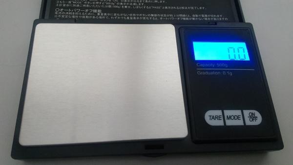 デジタルスケール 測定前