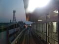 ニュートラムで大阪南港をお散歩です