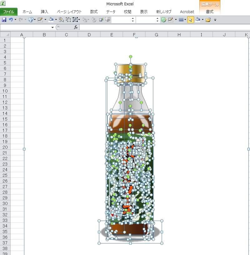 浜田屋本店の玉ねぎふんだんに使った「淡路島ソース」のエクセル画イラストドット版