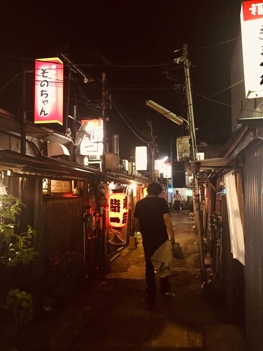 金沢木倉町の奥地