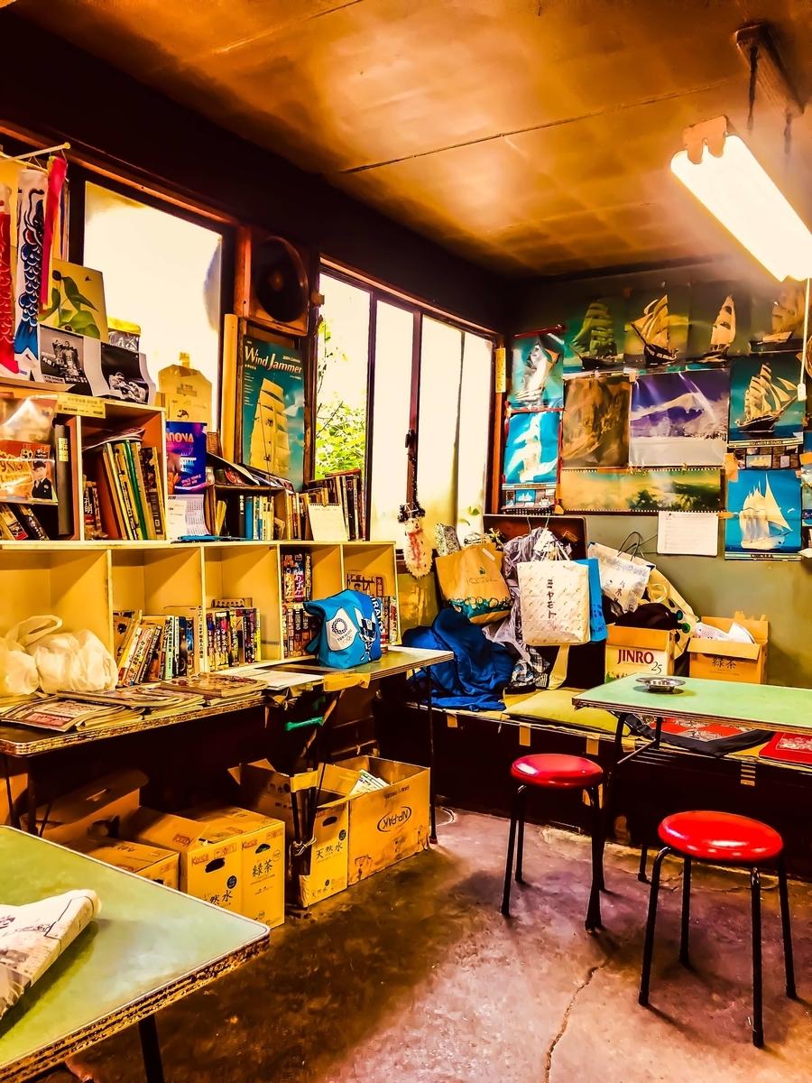 スカイツリーの麓の東向島にある激渋酒場「菊屋」の店内