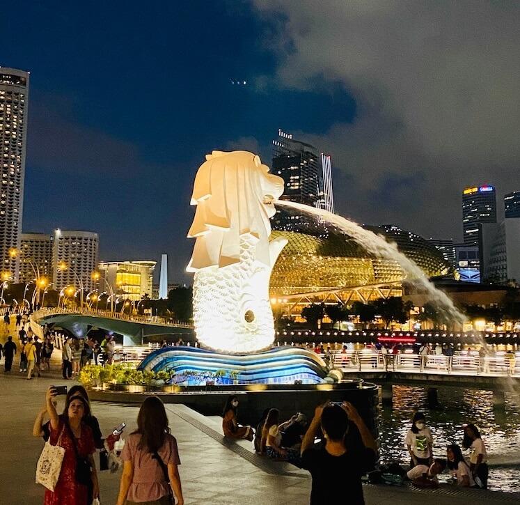 2020年2月のシンガポール