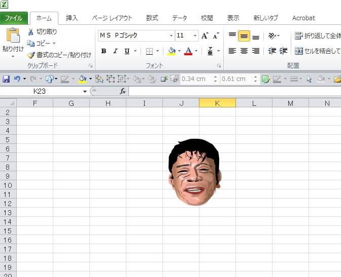サウナドラマ「サ道」のエクセル画イラスト作画過程6
