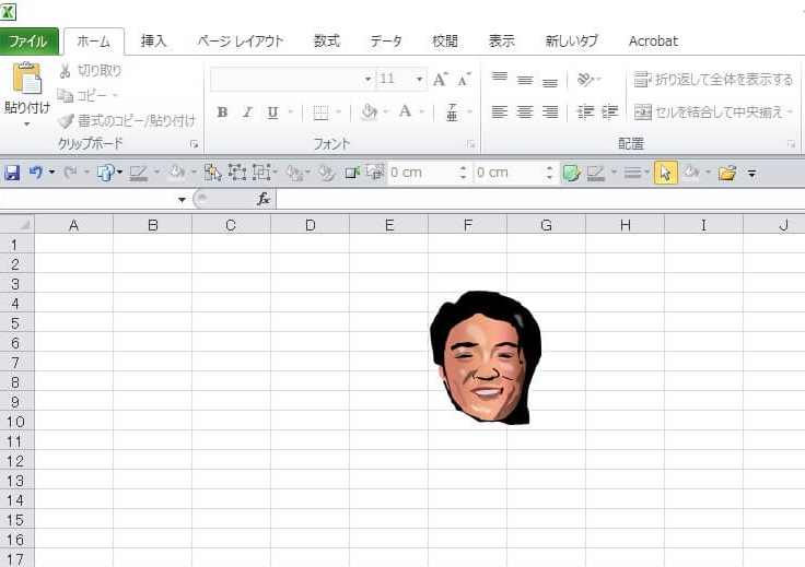 サウナドラマ「サ道」のエクセル画イラスト作画過程8