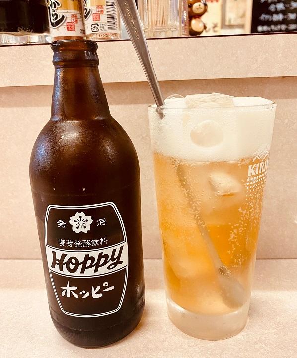 清瀬の激安立ち飲み酒場「どろのき」でホッピー