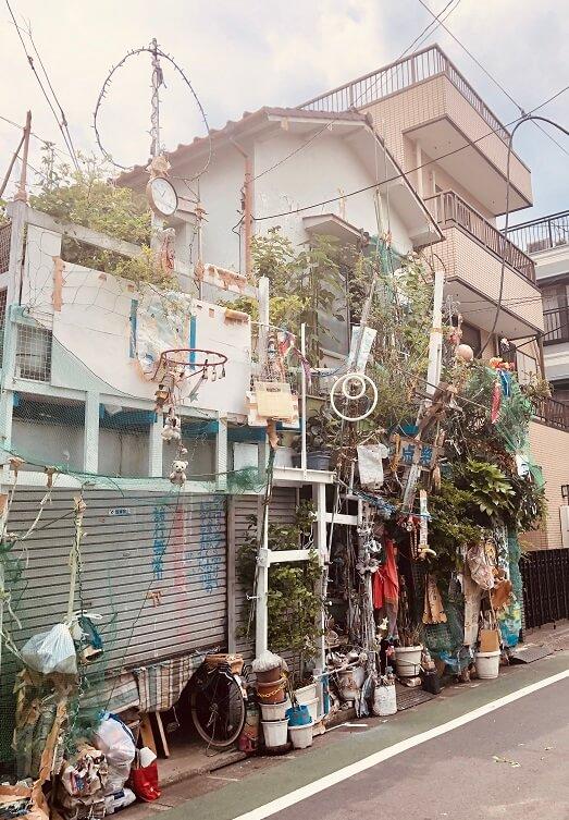 江古田~東長崎にある電波系住宅