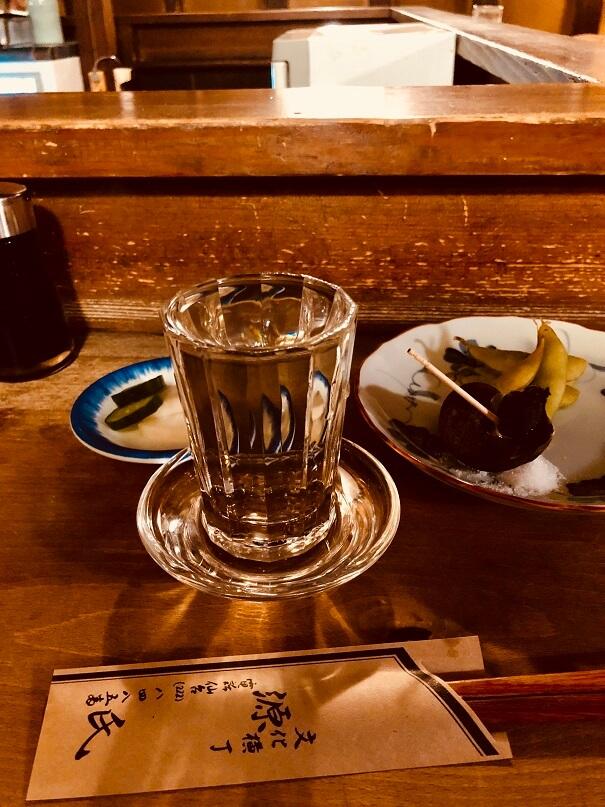 仙台の居酒屋「源氏」で日本酒