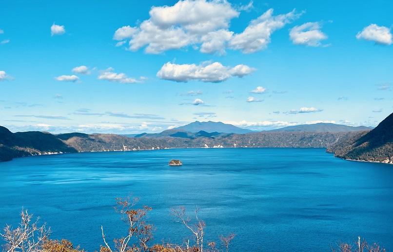 摩周湖の眺望