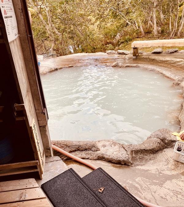 「熊の湯」の浴槽