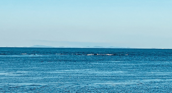 宗谷岬から望む樺太