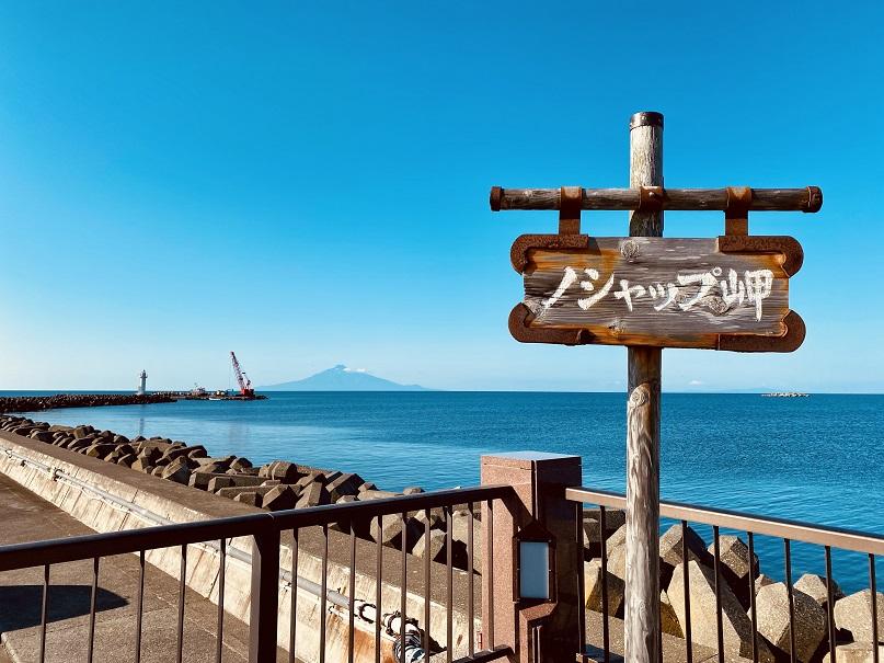 ノシャップ岬と利尻富士