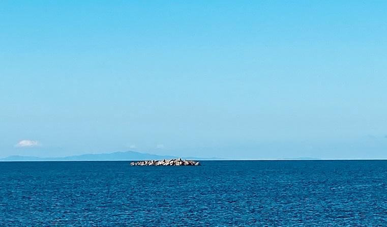 ノシャップ岬から見える樺太