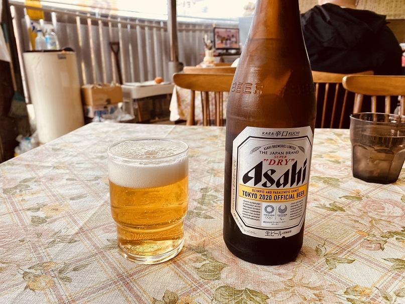 「せいちゃんラーメン」でビール