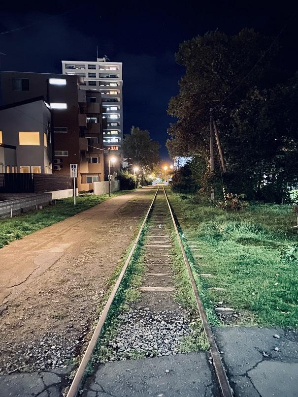 小樽の廃線跡