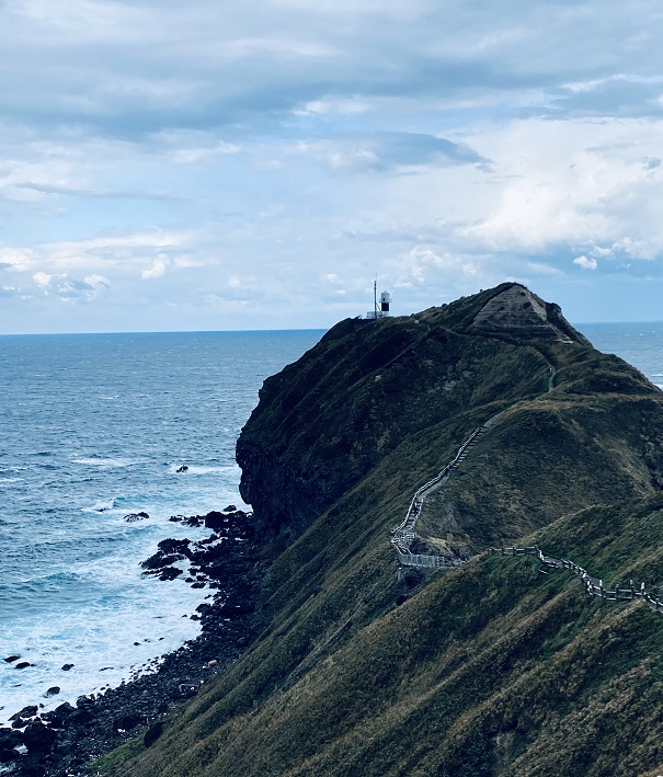 神威岬の「チャレンカの道」