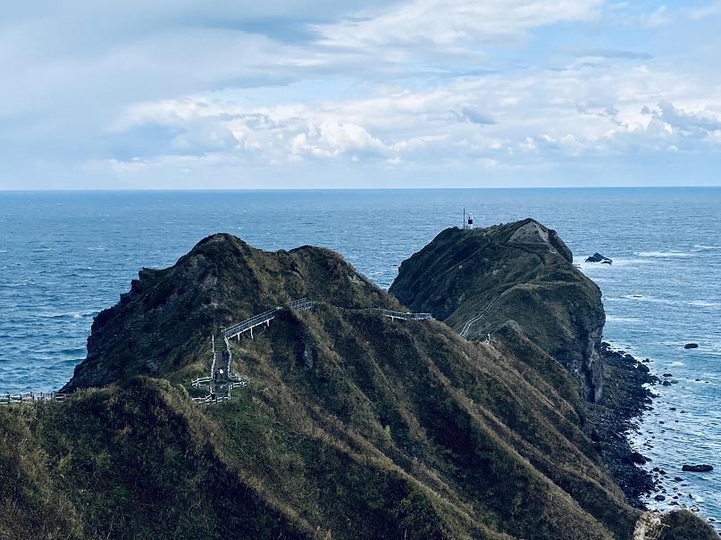 神威岬の全景