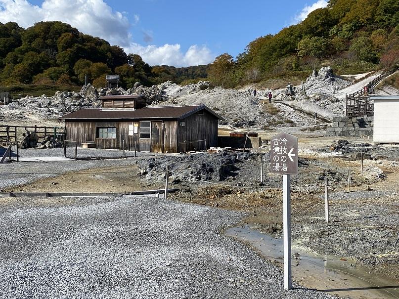 恐山の女性用温泉。こちらは2棟ある。