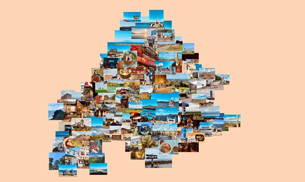 2020北海道ひとり旅写真コラージュ