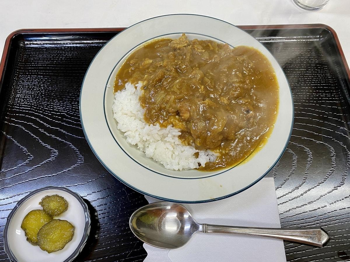 「ほかり食堂」のカツカレー