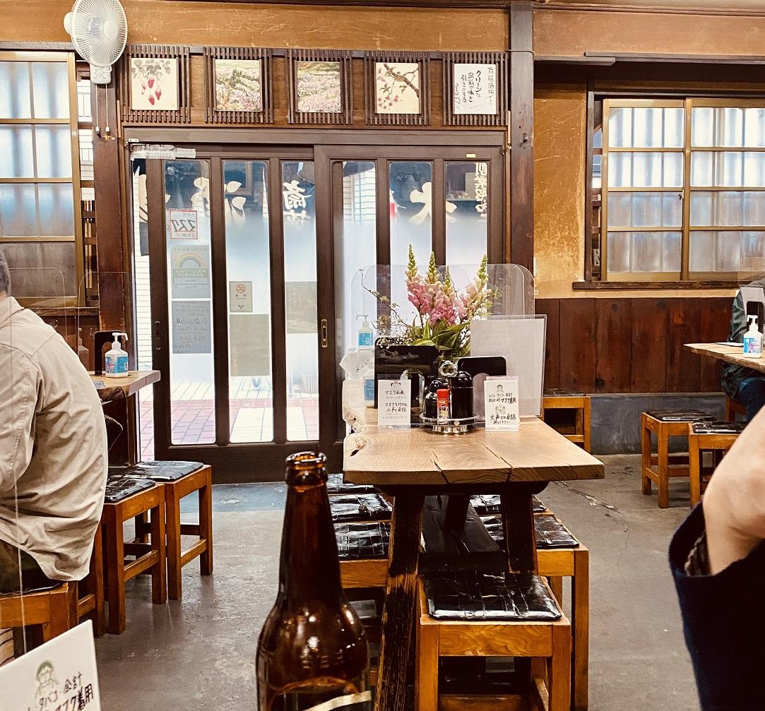 「斎藤酒場」に飾られている絵もろもろ