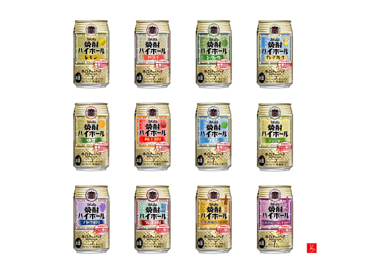 「タカラ焼酎ハイボール」キャンベル缶風エクセル画完成版
