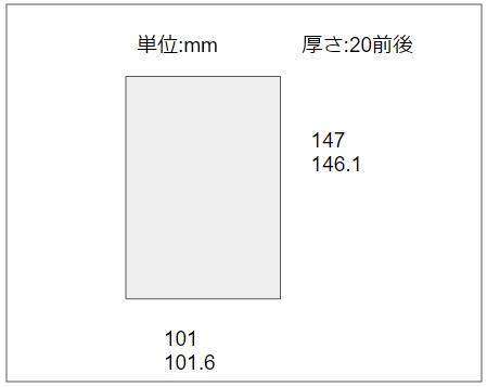 3.5インチ内蔵HDDの寸法