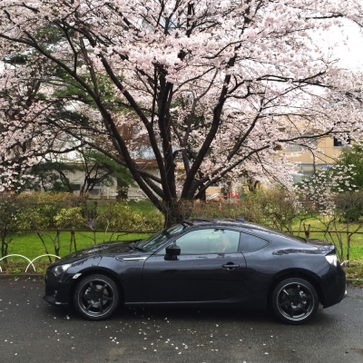 Sakura with BRZ