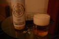 ホテルで缶ビール