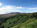 国道最高峰 渋峠付近(2172m)からの眺め
