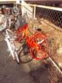 たまに『スプレーで塗りたくった』自転車を見かけるよね…