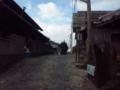 人生初 暗峠 奈良県側から車で来ました