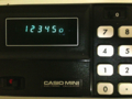 """CASIO """"Mini CM-602"""""""