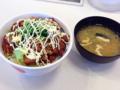 唐揚げ丼(松屋)