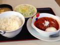 うまトマハンバーグ定食(松屋)