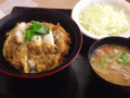 ミニカツ丼セット(かつや)