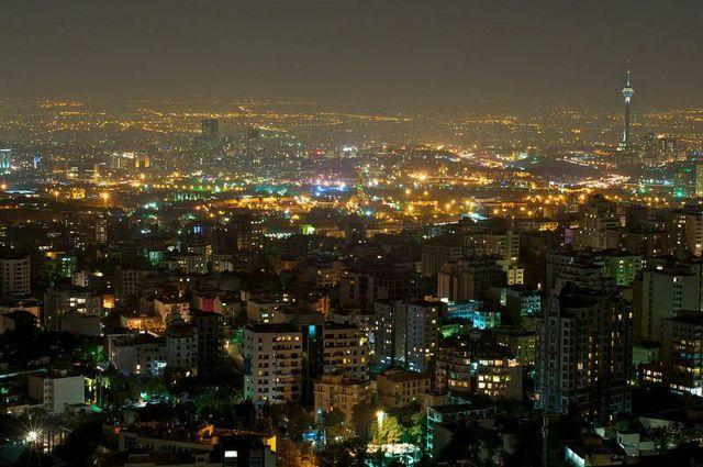 テヘラン風景