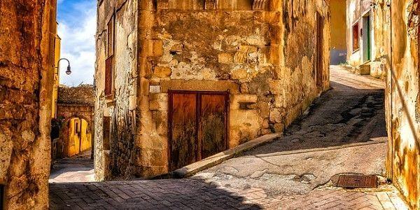 中世の路地